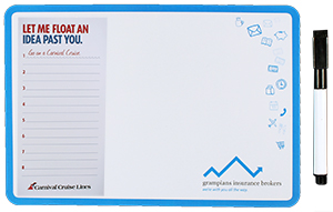 A5 Whiteboard Noteboard Combination Printed Full Colour